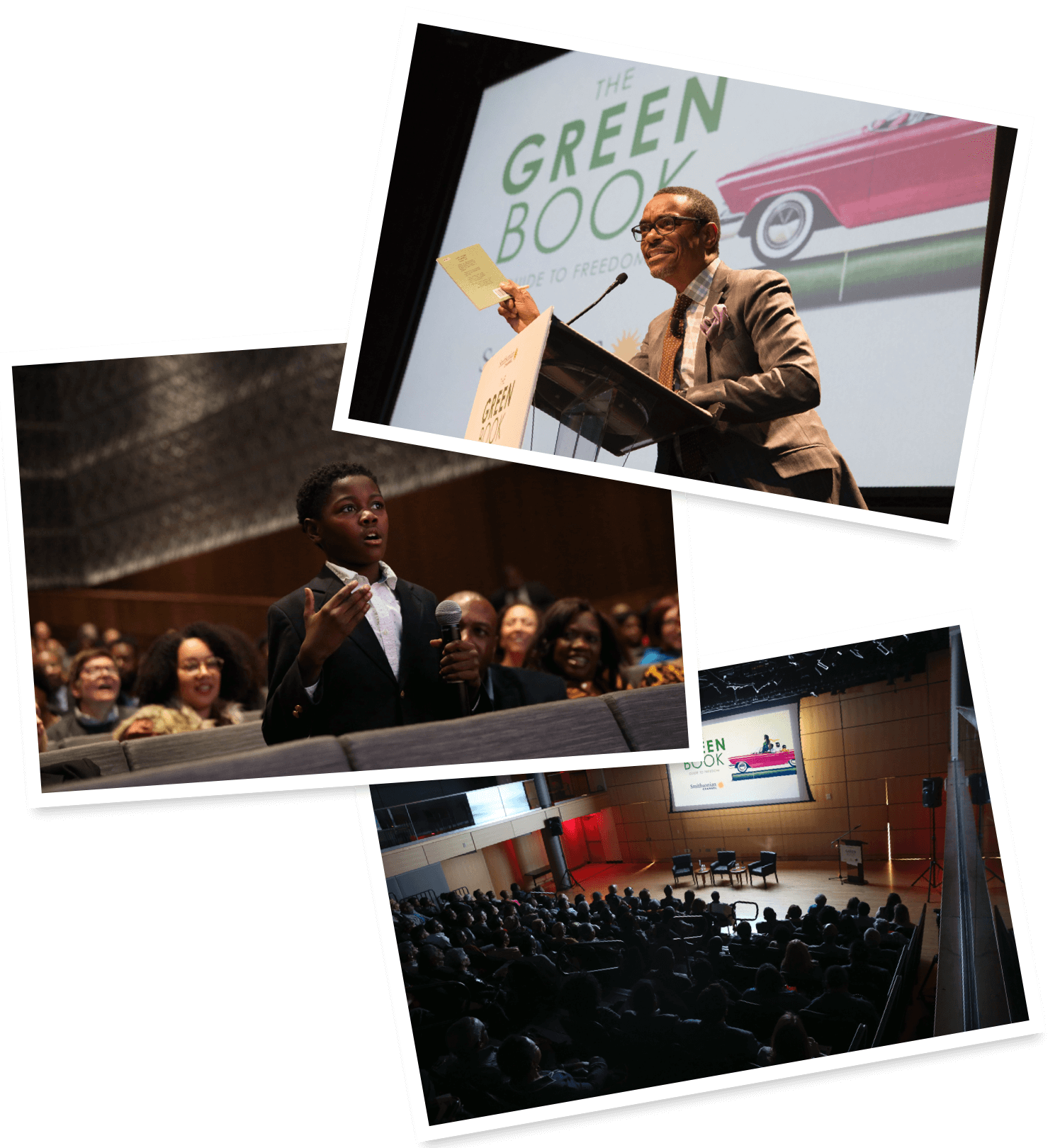 The Green Book photo collage